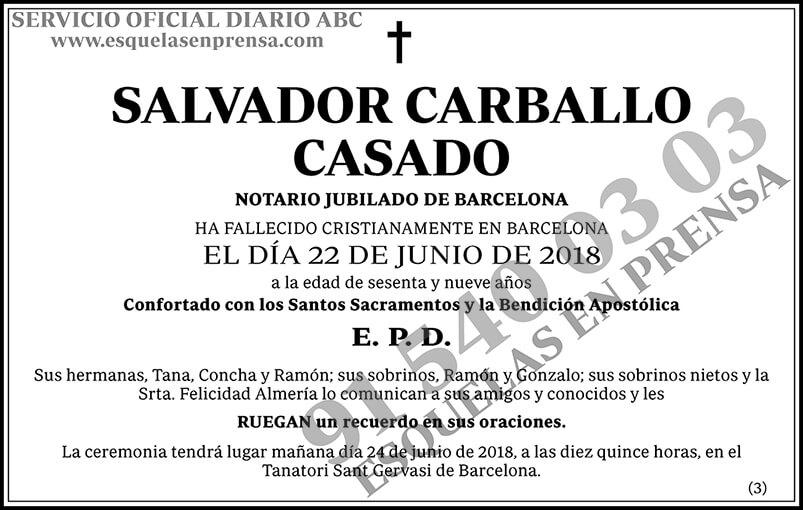 Salvador Carballo Casado